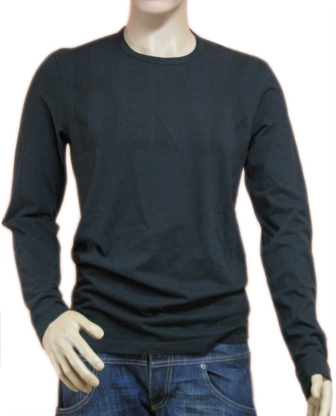 BIKKEMBERGS Mens Black BKK Long Sleeve Logo Shirt