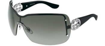 Gucci Sunglasses 2797/S 6LB Ruthenium Black