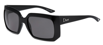 Christian Dior Womens Essence 1 Black Sunglasses