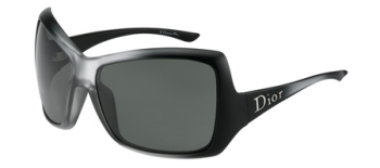 Christian Dior Womens Mist 1 D28 Black Sunglasses