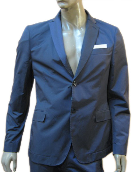 Daniele Alessandrini Mens Light Violet Blazer Jacket