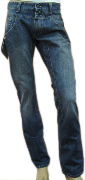 Daniele Alessandrini Mens Denim Boot Cut Denim Jeans from niftyfits.com